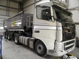 Naprawa samochodów ciężarowych